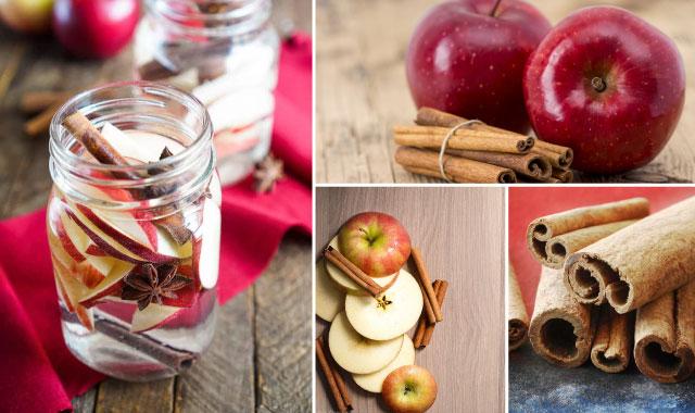 Cách làm nước detox táo và quế:
